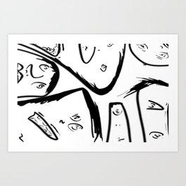 The Gallery Art Print