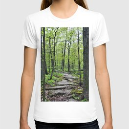 Lead and I will Follow You into the Woods by Reay of Light T-shirt