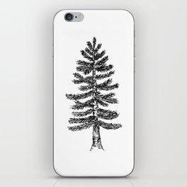 Pine Tree iPhone Skin