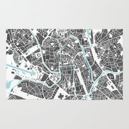 Ghent City Map I Rug