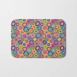 Millefiori-Crayon Colors Bath Mat