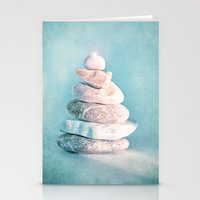 lighthouse Stationery Cards featuring LIGHTHOUSE by INA FineArt