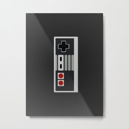 8-bit Freak Metal Print