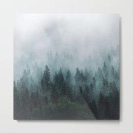 Take Me Somewhere Misty Metal Print