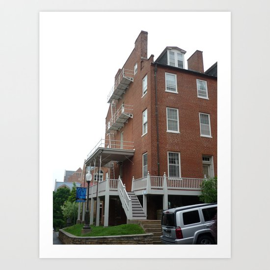 Georgetown Apartment 2 Art Print