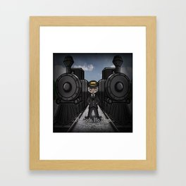 The Conductor Framed Art Print