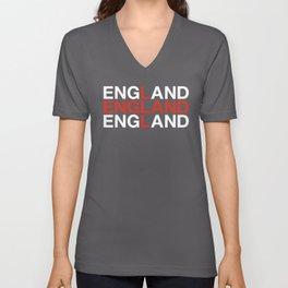 ENGLAND Unisex V-Neck