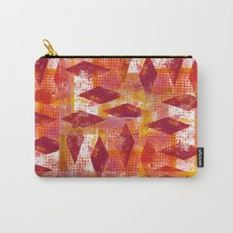 Distress Diamonds in the Rough Carry-All Pouch