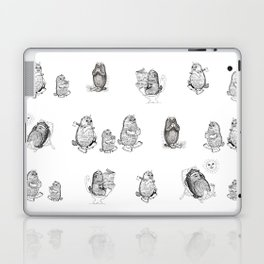 Monsters from Karst evryday life Laptop & iPad Skin
