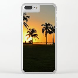 Unconditional Freedom Clear iPhone Case