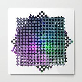 Cubiplexity Linearis Metal Print