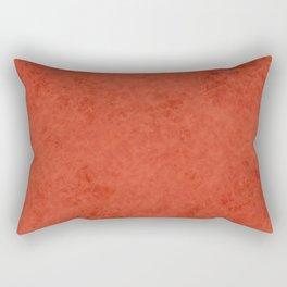Orange suede Rectangular Pillow