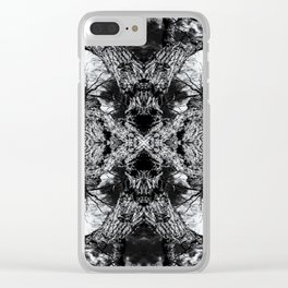 Gnarled Sleep of Forest Giant Clear iPhone Case