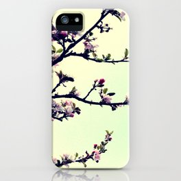 Love Blossoms iPhone Case