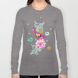 Birds and Blooms 1 Long Sleeve T-shirt