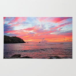Caribbean Sunset Rug