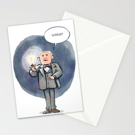Thomas Edison - Lumos! Stationery Cards
