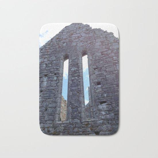 Landscape | Architecture | Sky Windows | Monastery Ruins Bath Mat