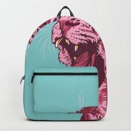 Magenta tiger Backpack