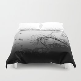Into The Darkness 3 Duvet Cover