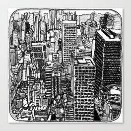 Back In The NYC Canvas Print