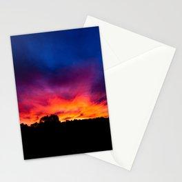 Sunset, Rural Australia. Stationery Cards