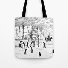 Antarctic explorer Tote Bag