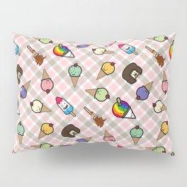 Neapolitan Gingham Frosty Treats Pillow Sham