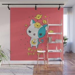 Really Good Kitty Wall Mural