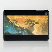 meditation iPad Cases featuring Meditation  by Michael Jared DiMotta Illustrations