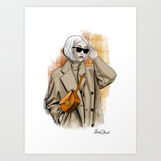 Fall fashion Art Print