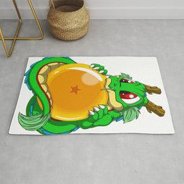Baby dragon dragon ball Rug