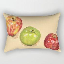 crispy apples Rectangular Pillow