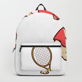 Tennis Funny Gift Sports Game Cool fun humor Backpack