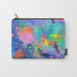 Fusion - Fluid Abstract Art Carry-All Pouch