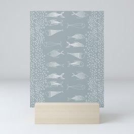 So Many Sardines in the Green Sea Mini Art Print