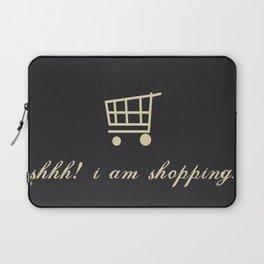 shh! I am shopping. Laptop Sleeve