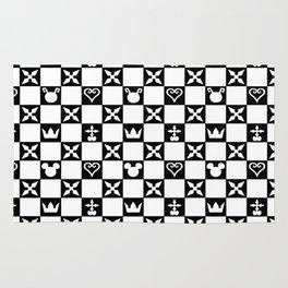 Kingdom Hearts pattern Rug