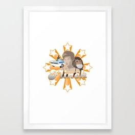 Flinch projet 01 Framed Art Print