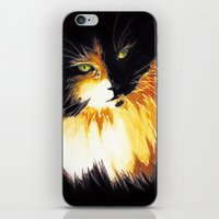 shadow iPhone & iPod Skins featuring Shadow by DTice