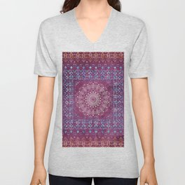 Old Bookshop Magic Mandala Unisex V-Neck