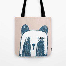 No peeking panda Tote Bag