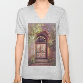A Beautiful Mystery Unisex V-Neck