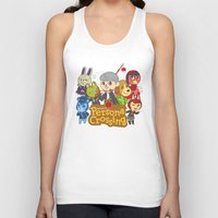 persona Tank Tops featuring Persona Crossing by Cassie S