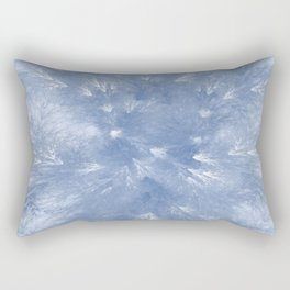 Cyan Splendor Rectangular Pillow