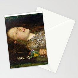 OPHELIA - JOHN EVERETT MILLAIS Stationery Cards