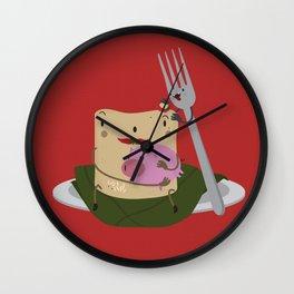 Tamal con cerdo Wall Clock