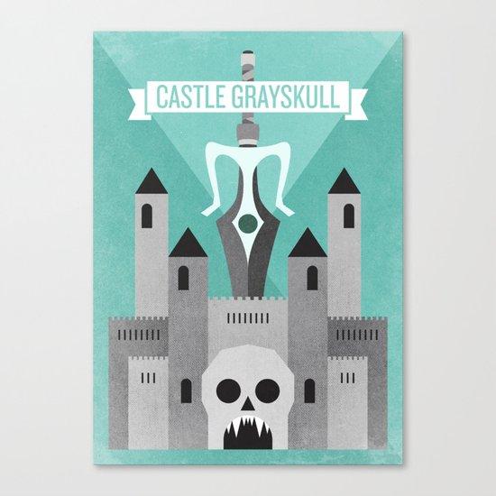 Castle Grayskull Canvas Print
