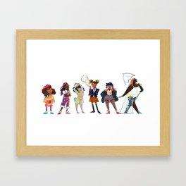 Big Mood Framed Art Print