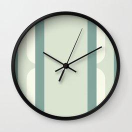 1958 - Mod Mint Wall Clock